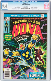 Nova #1 (Marvel, 1976) CGC NM 9.4 White pages
