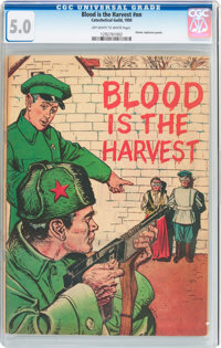 Blood Is the Harvest #nn (Catechetical Guild, 1950) CGC VG/FN 5.0 Off-white to white pages