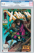 Modern Age (1980-Present):Superhero, X-Men #266 (Marvel, 1990) CGC NM/MT 9.8 White pages....