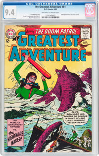 My Greatest Adventure #81 (DC, 1963) CGC NM 9.4 Off-white to white pages