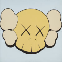 KAWS (b. 1974) Untitled (four works), 1999 Acrylic on canvas 16 x 16 inches (40.6 x 40.6 cm) (eac