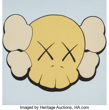 KAWS (b. 1974)Untitled (four works), 1999Acrylic on canvas16 x 16 inches (40.6 x 40.6 cm) (each)Each signed and ... (Total: 4 Items)