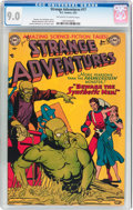 Golden Age (1938-1955):Superhero, Strange Adventures #17 (DC, 1952) CGC VF/NM 9.0 Off-white to whitepages....