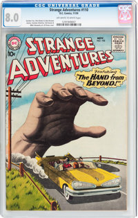 Strange Adventures #110 (DC, 1959) CGC VF 8.0 Off-white to white pages