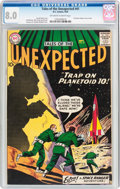 Silver Age (1956-1969):Science Fiction, Tales of the Unexpected #41 (DC, 1959) CGC VF 8.0 Off-white towhite pages....