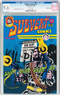 Bronze Age (1970-1979):Alternative/Underground, Subvert Comics #2 Haight-Ashbury Pedigree (Rip Off Press, 1972) CGC NM+ 9.6 White pages....