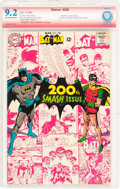 Silver Age (1956-1969):Superhero, Batman #200 Verified Signature (DC, 1968) CBCS NM- 9.2 Off-white to white pages....