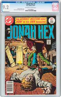Jonah Hex #1 (DC, 1977) CGC NM- 9.2 Off-white to white pages