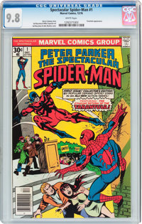 Spectacular Spider-Man #1 (Marvel, 1976) CGC NM/MT 9.8 White pages