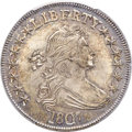 Early Half Dollars, 1807 50C Draped Bust, O-105, T-4, R.1, MS65+ PCGS. CAC....