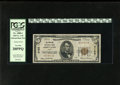 National Bank Notes:Maine, Portland, ME - $5 1929 Ty. 1 The Portland NB Ch. # 4128. A binaryserial number of all 0's and 1's adorns this PCGS Ve...
