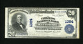 National Bank Notes:Maryland, Baltimore, MD - $20 1902 Plain Back Fr. 650 The Citizens NB Ch. #1384. Joseph Oberle and A.D. Graham ran this bank. Th...