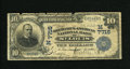 National Bank Notes:Missouri, Saint Louis, MO - $10 1902 Date Back Fr. 616 The Mechanics-AmericanNB Ch. # (M)7715. This bank was absorbed by the Thir...