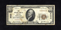 National Bank Notes:Pennsylvania, Bath, PA - $10 1929 Ty. 1 The First NB Ch. # 5444. This is one of 22 Small in the Kelly census. Officers are Jacob H. S...