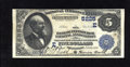 National Bank Notes:Pennsylvania, Pittsburgh, PA - $5 1882 Date Back Fr. 537 The Bank of Pittsburgh, National Assoc Ch. # (E)5225. Nice pen signatures of ...
