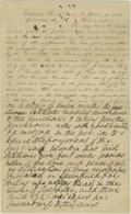 Autographs:U.S. Presidents, Abraham Lincoln. Unsigned Autograph Document. No place or date (Sangamon Co., Ill., ca November 1840), one-half page, folio....