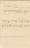 "Autographs:U.S. Presidents, Abraham Lincoln. Autograph Document Signed twice ""Lincolnp.d."" No place or date [DeWitt Co., Ill.; docketed May1854],..."