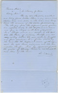 Autographs:U.S. Presidents, Abraham Lincoln. Autograph Document, written in Lincoln's hand but signed by David Davis. No place or date [Tazewell Co., Il...