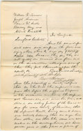 "Autographs:U.S. Presidents, Abraham Lincoln. Autograph Document Signed twice ""Beckwith & Lincoln p.d."" No place or date [Vermilion Co., Ill.; docket..."