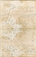 Autographs:U.S. Presidents, Abraham Lincoln. Unsigned Autograph Document. Champaign Co., Ill.,no date, one page, folio. John T. Rankin, co-defendant of...