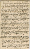 """Autographs:U.S. Presidents, Lincoln Law Partner, Stephen Trigg Logan. Autograph Document Signed""""Logan & Lincoln for Petitioners"""". Sangamon Co. [Ill.], ..."""