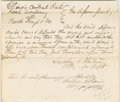 "Autographs:U.S. Presidents, Lincoln Colleague, Henry Clay Whitney. Autograph Document Signed""Lincoln & Whitney Attys for Deft"". No place, no date [Ch..."