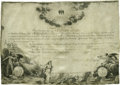 "Autographs:U.S. Presidents, George Washington Document Signed ""G. Washington."" One page,19.5"" x 13.5"", Mount Vernon, Virginia, October 31, 1785. Fo..."