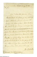 Autographs:Non-American, A rare letter from Mohawk leader Joseph Brandt. Joseph Brandt (c.1742-1807) Mohawk chief and British officer in the A...