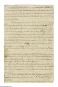 "Autographs:Statesmen, Samuel Chase (1743-1811) Signer of the Declaration of Independence, scarce manuscript Document Signed, ""Samuel Chase"", t..."