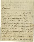 Autographs:Military Figures, Nathanael Greene Great Autograph Letter on Military Justice in theContinental Army! Autographed Letter Signed, as Major G...