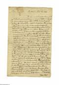 Military & Patriotic:Revolutionary War, Signed by three Signers of the Declaration of Independence, Membersof the Secret Committee. Richard Henry Lee (1732-17...