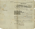 "Autographs:Statesmen, Declaration Signer Thomas McKean Document Signed as PennsylvaniaGovernor ""Tho M:Kean"". One page, partly printed, 15.5"" ..."