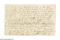 "Autographs:Statesmen, Declaration Signer Roger Sherman Autograph Document Signed""Sherman"" as attorney for the plaintiff. Two pages, 8.25"" x5..."