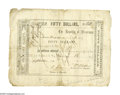 Autographs:Military Figures, William Walker (1824-1860), adventurer, and soldier of fortune whobriefly ruled Nicaragua from 1856 to 1857, rare partly-prin...