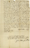 Autographs:Statesmen, Colonial & Early Americana Collection consisting of more than24 items, mostly manuscript legal documents dated before 1800....(Total: 24 )