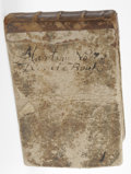 Books:Non-fiction, Early Philadelphia Merchant's Account Book of Martin Noll 12 mooblong. A manuscript between August. 8, 1762 to May 11, 17...