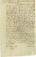 Autographs:Statesmen, Continental Congress & Founding Fathers Autograph Collectionconsisting of the following signed items: . Thomas Hartley, R...