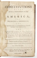 Books:Non-fiction, Constitutions of the Several Independent States of America; The Declaration of Independence; The Articles of Confederation; Be...