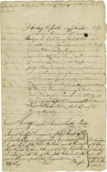 Autographs:Non-American, (Privateering in the Napoleonic Wars). A fascinating collection ofthree manuscript documents, 1803-4, in which the owners o...