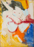Post-War & Contemporary:Abstract Expressionism, Willem de Kooning (1904-1997). East Hampton II, 1968. Oil onpaper laid on canvas. 41-3/4 x 30 inches (106 x 76.2 cm). S...
