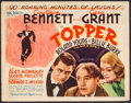 "Movie Posters:Comedy, Topper (MGM, 1937). Title Lobby Card (11"" X 14""). Comedy.. ..."