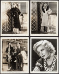 "Movie Posters:Musical, The Gay Divorcee (RKO, 1934). Photos (4) (8"" X 10""). Musical.. ...(Total: 4 Items)"