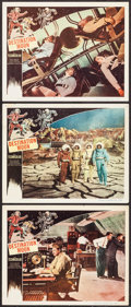 "Movie Posters:Science Fiction, Destination Moon (Pathé, 1950). Lobby Cards (3) (11"" X 14"").Science Fiction.. ... (Total: 3 Items)"