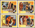 """Movie Posters:Science Fiction, Phantom from Space (United Artists, 1953). Title Lobby Card &Lobby Cards (3) (11"""" X 14""""). Science Fiction.. ... (Total: 4 Items)"""