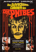 "Movie Posters:Horror, The Abominable Dr. Phibes (Constantin, 1972). German A1 (23"" X 33""). Horror.. ..."