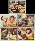 """Movie Posters:War, China Girl (20th Century Fox, 1942). Lobby Cards (5) (11"""" X 14"""").War.. ... (Total: 5 Items)"""