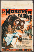 """Movie Posters:Science Fiction, The Monster that Challenged the World (United Artists, 1957).Belgian (13.75"""" X 21.25""""). Science Fiction.. ..."""