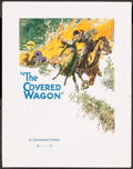 "Movie Posters:Western, The Covered Wagon (Paramount, 1923). Promo (11"" X 14""). Western.. ..."