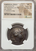 Ancients:Greek, Ancients: PAMPHYLIA. Perga. Ca. 250-240 BC. AR tetradrachm (14.77gm)....