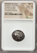Ancients:Greek, Ancients: LYCIA. Uncertain Dynast. Ca. 520-460 BC. AR stater (9.43gm)....